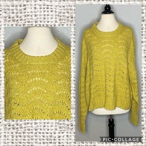 American Eagle So Soft Open Loop Sweater NWT Sz XL